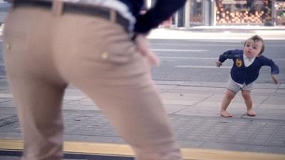 Evian کمپین موفق ایویَن با نام Baby & Me