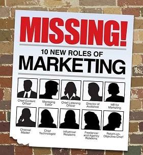 نقش جدید مدیریت بازاریابی new Marketing Roles 10 نقش و وظایف مدیر بازاریابی محتوا Content Marketing در 10 سال آینده
