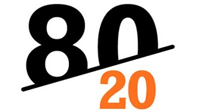 کاربرد اصل پارتو قانون 2080 پارتو فروش سود مشتری اصل پارتو قاونون پارتو