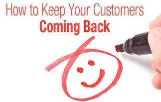 مشتریان بازگشتی return customers خرید مجدد