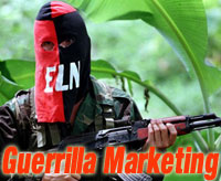Guerrilla Marketing بازاریابی چریکی
