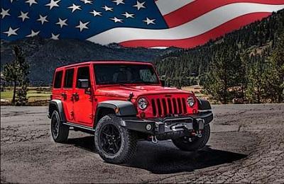 Jeep Patriotic Brands برند میهنپرستانهی آمریکایی