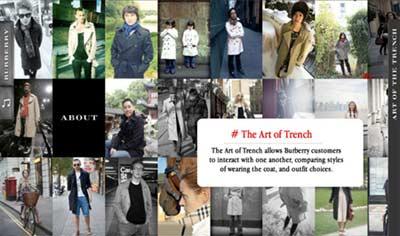 برند Burberry کمپینی تحت عنوان Art of the Trench