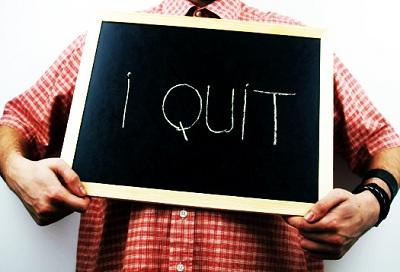 quit job ترک کار