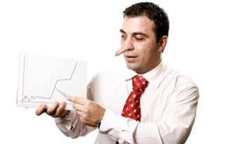 دروغ فروشنده به مدیر دروغ فروشنده