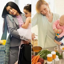 درامد زنان شاغل working mom
