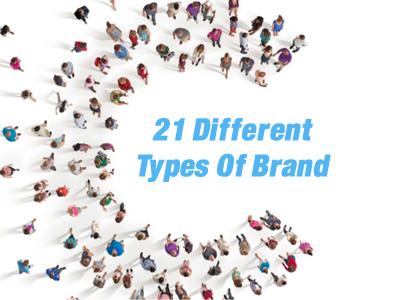 21 نوع متفاوت برند