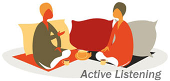 مهارتهای گوش دادن فعال معنی گوش دادن مقاله مهارت گوش دادن مهارت گوش دادن موثر گوش دادن در جدول هنر خوب گوش دادن تکنیکهای گوش دادن فعال