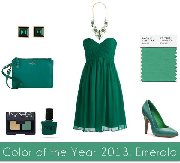 رنگ سال 2013 تونالیته ای از رنگ سبز است به نام Emerald با کد 5641-17 که به عقیده خیلی ها توأم با حس لوکس بودن است
