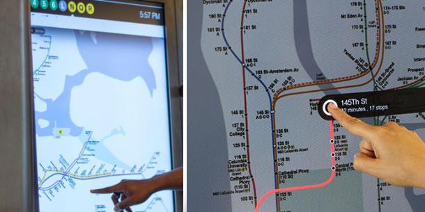راه اندازی سرویس مسیر یاب لمسی در متروی نیویورک