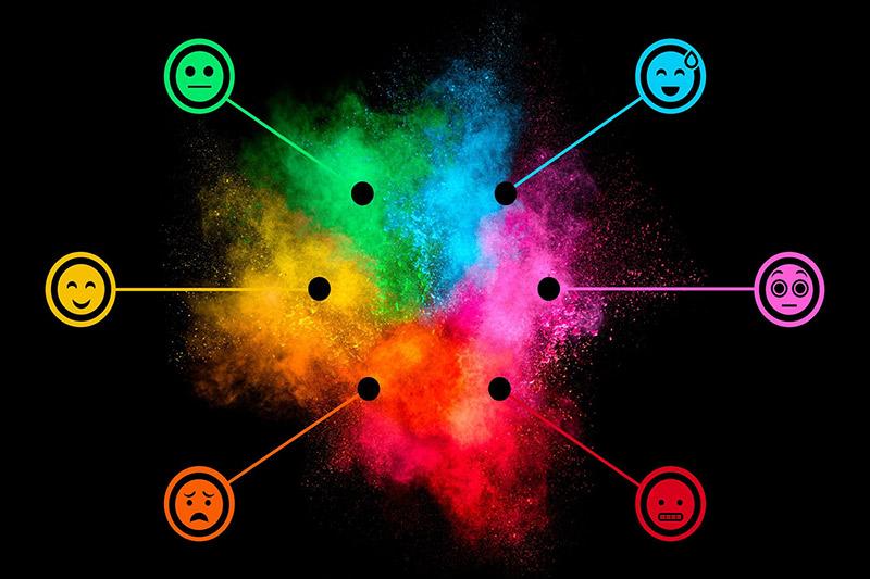 تداعیات رنگ برند ( معنی رنگ ، روانشناسی رنگها )