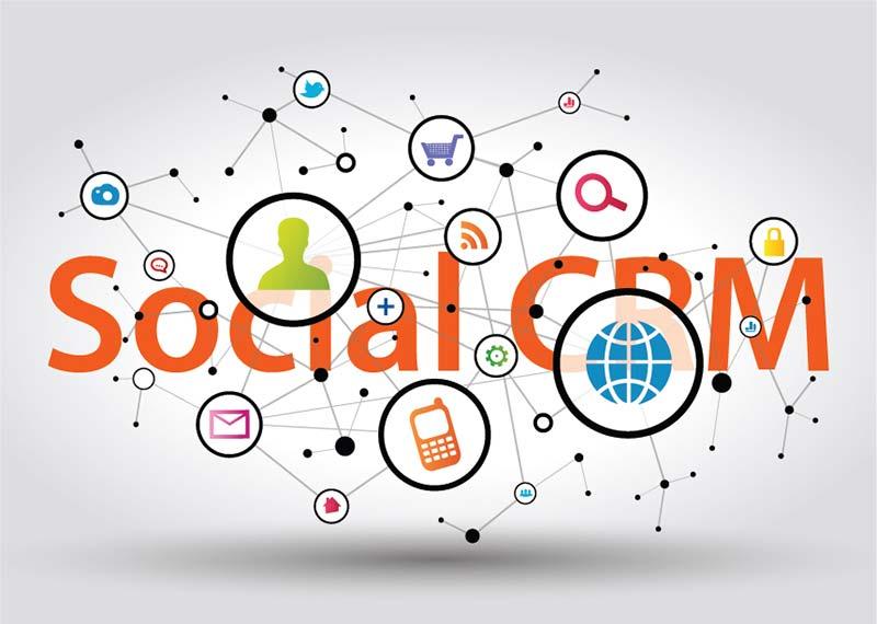 مدیریت ارتباط با مشتری شبکه های اجتماعی فروش CRM