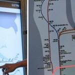 راه اندازی سرویس مسیریاب لمسی در متروی نیویورک