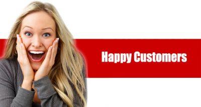لبخند بر لبان مشتری لبخند مشتری