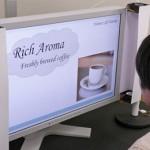 حس بویایی در بازاریابی و تبلیغات – مانیتوری که تصویر و بو پخش میکند