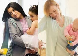 مقایسه میزان تولید ثروت توسط مادران شاغل و خانه دار