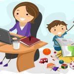 مقایسه میزان تولید ثروت توسط مادران شاغل و مادر خانهدار
