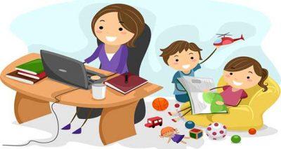 مقایسه مادران شاغل و خانهدار