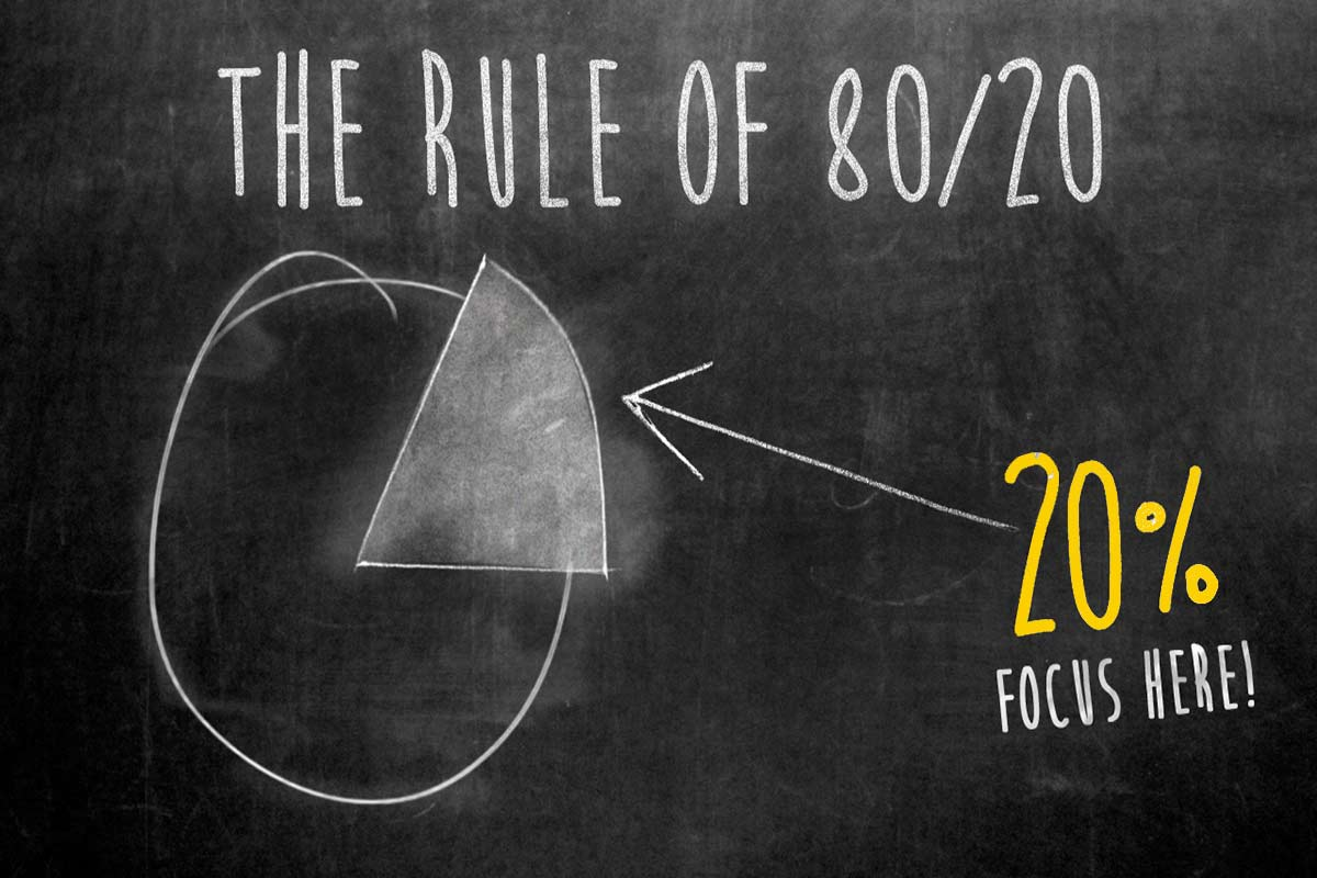 Pareto Principle 80-20 rule اصل پارتو قانون پارتو