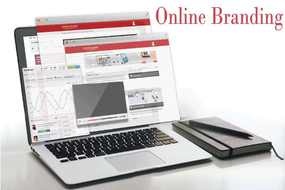 برندینگ آنلاین online Branding  آنلاین برندینگ