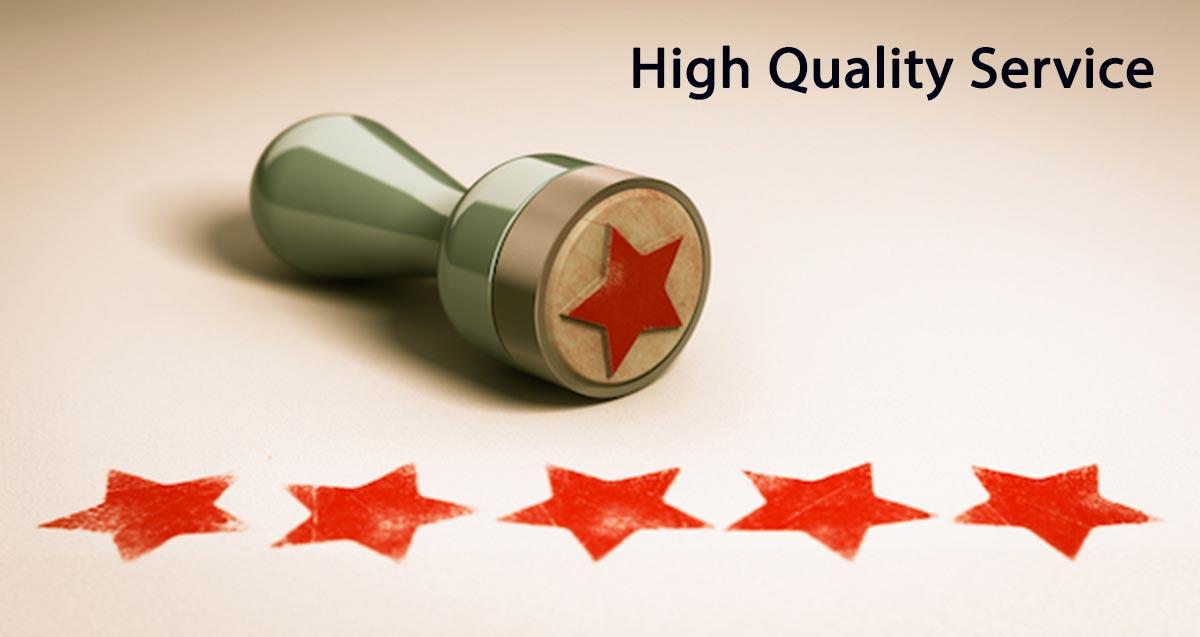 ارائه خدمات باکیفیت به مشتری