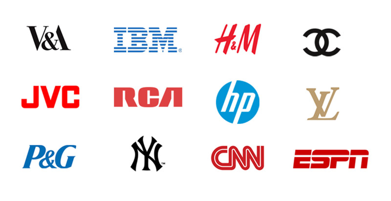 انواع لوگو لوگو با حرف تغییر شکل یافته types-of-logos