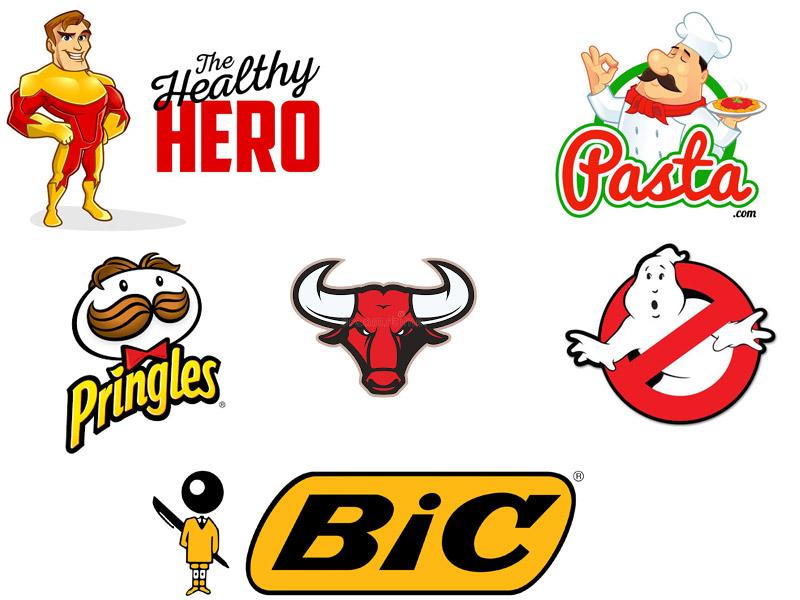 انواع لوگو لوگویی با یک شخصیت types-of-logos Character