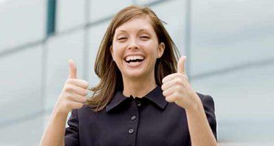 مشتری خوشحال احترام به مشتری