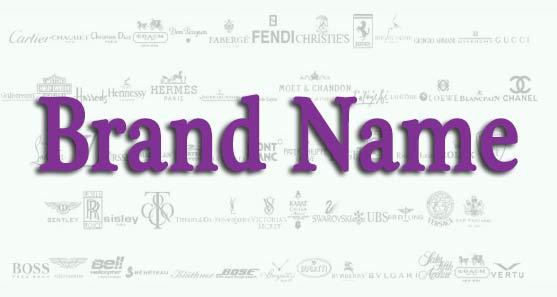 انتخاب بهترین نام برند نام تجاری