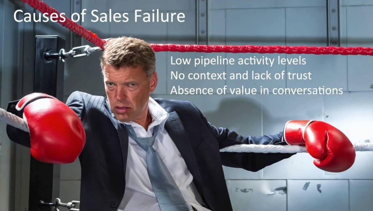 علت عدم موفقیت در فروش دلیل شکست فروش
