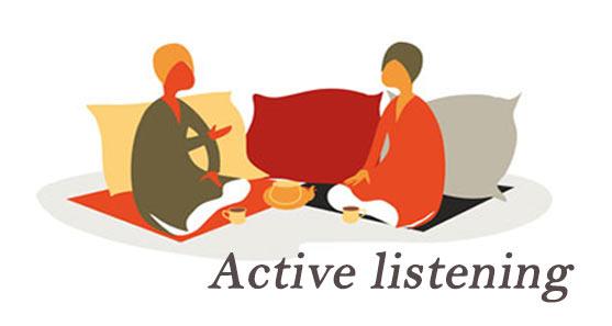 Active Listening گوش دادن فعال به مشتری خوب گوش دادن
