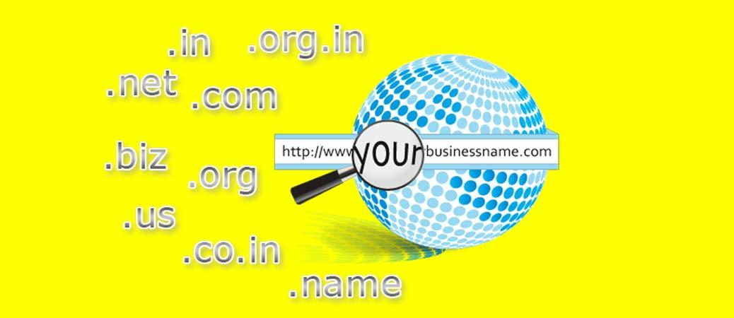 انتخاب نام وب سایت