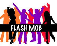 فلش ماب Flash Mob