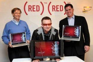 محصولات اپل و مایکروسافت قرمز رنگ