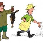 دو نوع شخصیت در بین نیروهای تیم فروش : شکارچی یا کشاورز ؟