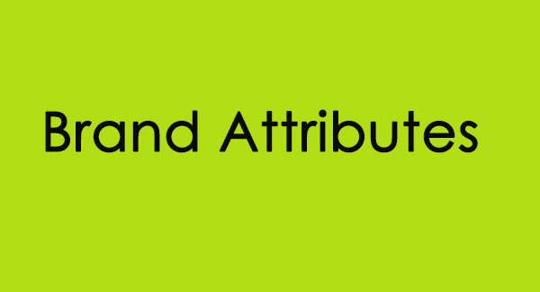 Brand Attributes صفات برند