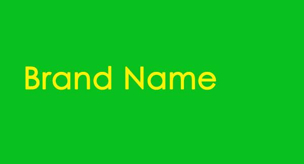 نام تجاری ( اسم تجاری / نام برند ) Brand Name