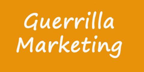 طراحی بازاریابی چریکی