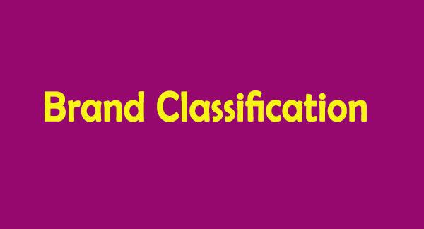 دسته بندی برند چیست ؟ ( تقسیم بندی برند / طبقه بندی برند ) Brand Classification
