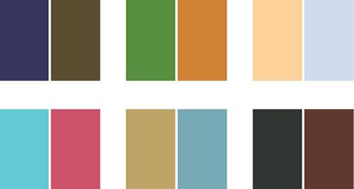 انتخاب رنگ برند اصلی