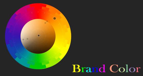 انتخاب رنگ برند brandcolor