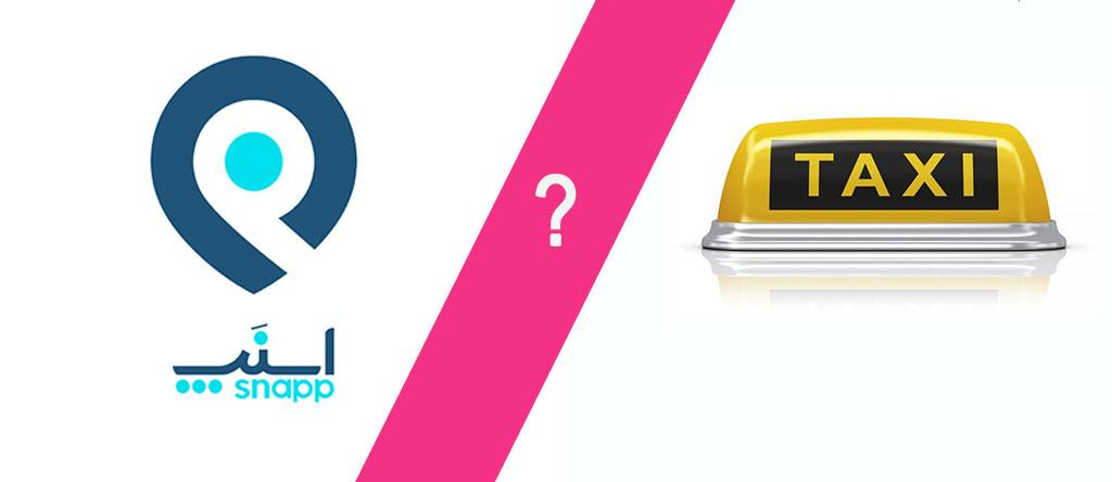 برند نوآوری اسنپ تاکسی شکست نوآوری مخرب
