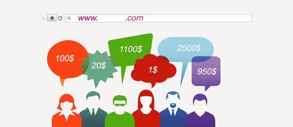 تعیین ارزش وب سایت ارزشگذاری برند آنلاین