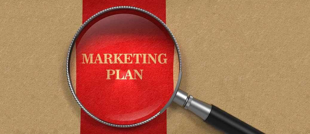 طرح بازاریابی مارکتینگ پلن marketing برنامه بازاریابی