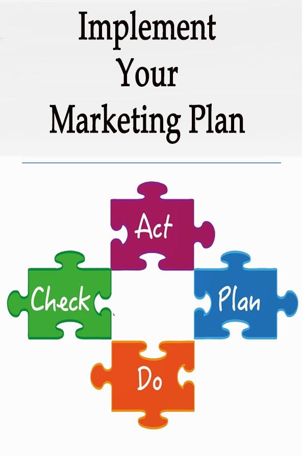 پیاده سازی برنامه بازاریابی