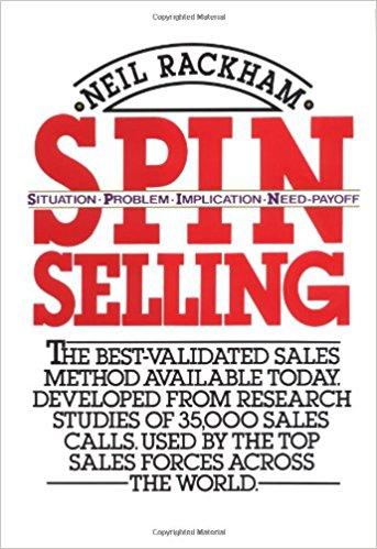 کتاب تکنیک فروش اسپین Spin Selling نویسنده Neil Rackham