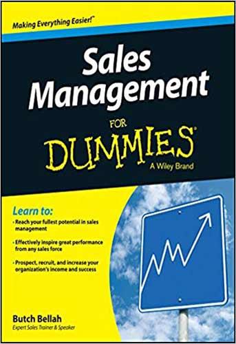 معرفی کتاب مدیریت فروش Sales Management for Dummies