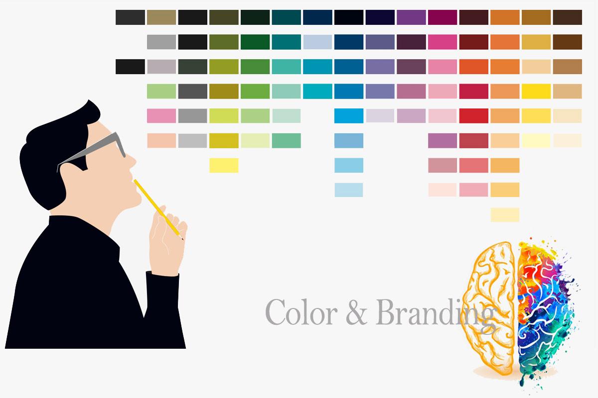 رنگ در برند برندسازی