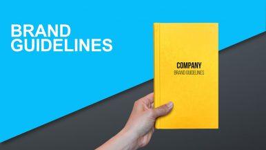 Brand Guidelines Book دفترچه هویت برند برند بوک