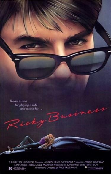 Risky Business Ray Ban Product Placement جایگذاری محصول قرارداد محصول در فیلم جایگذاری محصول Product Placement ( تبلیغات نامحسوس برند در فیلم و سریال )